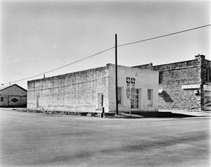 Primary view of object titled '[Lockett-Reed Building, (East oblique)]'.