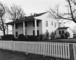 Primary view of object titled '[2 Story House]'.