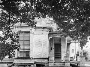 Primary view of object titled '[Engineer's House, (South facade)]'.