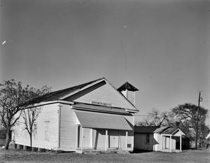 Primary view of object titled '[Capote Baptist Church]'.