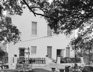 Primary view of object titled '[Joseph Johnson House, (East elevation)]'.