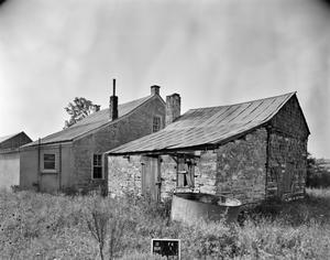 Primary view of object titled '[Old Itz House, (Northwest elevation)]'.