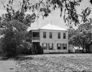 Primary view of object titled '[Heinsohn House, (North facade)]'.