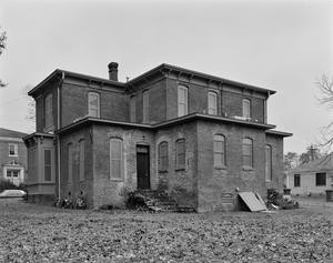 Primary view of object titled '[Hagerty House, (Northeast oblique)]'.