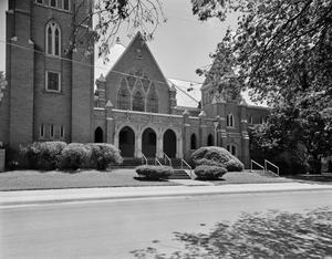 Primary view of [United Presbyterian Church, (North elevation)]