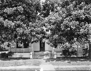 Primary view of object titled '[Arthur Fehrenkamp House, (East facade)]'.
