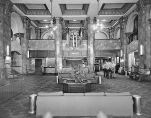 Primary view of object titled '[Hotel El Paso del Norte, (Interior)]'.