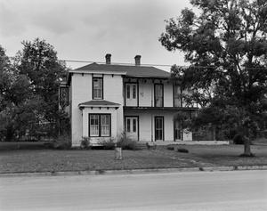Primary view of object titled '[Starker House, (South elevation)]'.