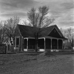 Primary view of object titled '[Channing Headquarters of Xit Ranch, (Pay Office (3), Completely remodeled Headquarters (2))]'.