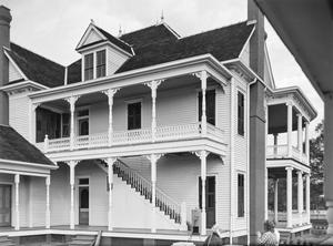 Primary view of object titled '[J.H.P. Davis House, (North facade)]'.