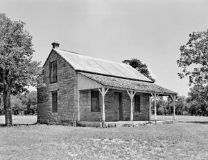 Primary view of object titled '[School Master's House]'.