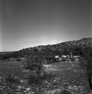 Primary view of object titled '[Fort Lancaster Ruins]'.