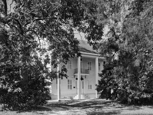 Primary view of object titled '[Reed House, (Southwest oblique)]'.