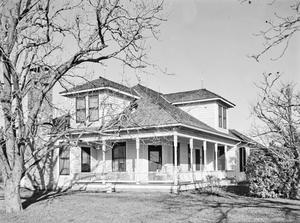Primary view of object titled '[Reiner House, (Southwest oblique)]'.