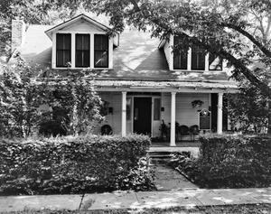 Primary view of object titled '[Ben Marshall Baker House, (South facade)]'.