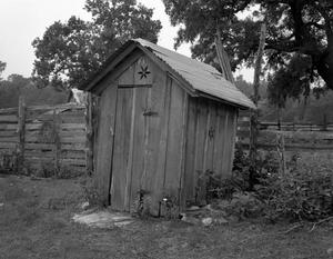 Primary view of object titled '[Gosche-Beck House, (Outbuilding)]'.