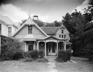 Primary view of object titled '[B.J. Lindsay House, (South elevation)]'.
