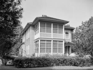 Primary view of object titled '[Weigand House, (East facade)]'.