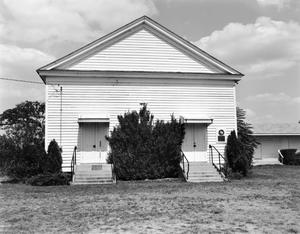 Primary view of object titled '[Plantersville Baptist Church]'.