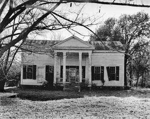 Primary view of object titled '[Drummond-Rogers-Perkins House, (North elevation)]'.