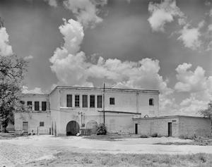 Primary view of object titled '[Hidalgo School, (South elevation)]'.