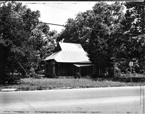 Primary view of object titled '[Tom Gosch House, (Southwest oblique)]'.