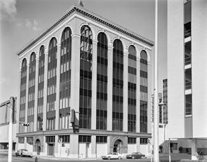 Primary view of object titled '[ABC Bank Building]'.