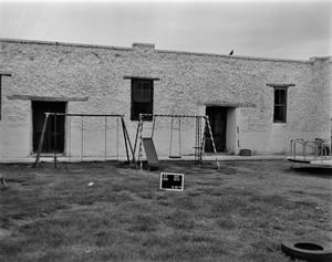 Primary view of object titled '[Mission Socorro School, (View 1)]'.
