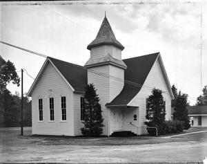 Primary view of object titled '[Bethel Presbyterian Church, (North oblique)]'.