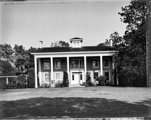 Primary view of object titled '[Varner Hogg Plantation, (South elevation)]'.