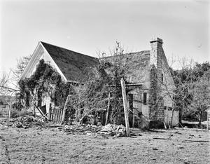 Primary view of object titled '[Brown House, (Northwest oblique)]'.