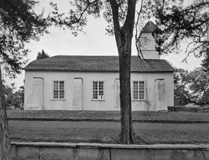 Primary view of object titled '[Bethlehem Lutheran Church, (South elevation)]'.