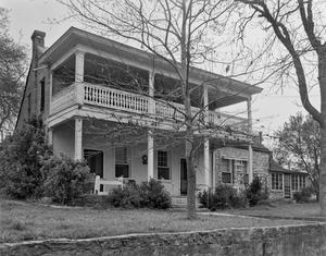 Primary view of object titled '[Burleson-Knisfel House, (East facade)]'.