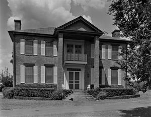 Primary view of object titled '[Oak Grove Plantation, (South elevation)]'.