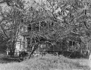 Primary view of object titled '[Moffet-Cox Residence, (Southeast oblique)]'.
