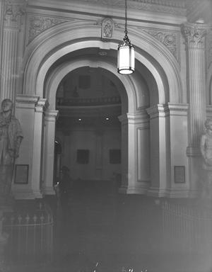 Primary view of object titled '[Texas State Capitol, (Interior)]'.