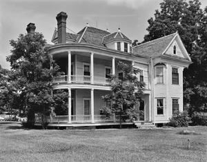 Primary view of object titled '[J.H.P. Davis House, (Southeast oblique)]'.