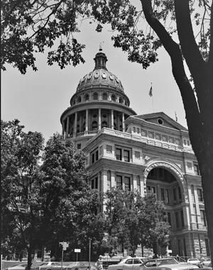 Primary view of object titled '[Texas State Capitol, (Southeast oblique)]'.