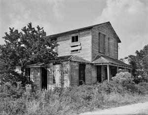 Primary view of object titled '[Barrow's Grocery, (Southeast oblique)]'.