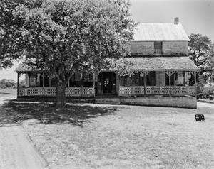 Primary view of object titled '[Rausch House/Farm, (West (front) elevation)]'.