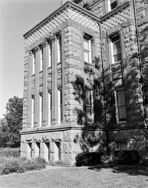 Primary view of object titled '[Ellis County Courthouse, (Detail South facade)]'.