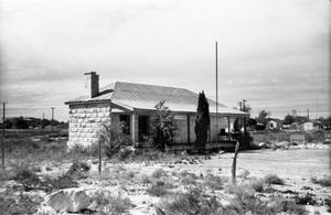 Primary view of object titled '[Fort Stockton Guarhouse]'.