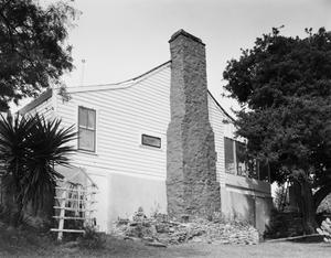 Primary view of object titled '[Kimble-Denman House, (Southwest oblique)]'.