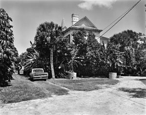 Primary view of object titled '[Rabb Plantation, (West elevation)]'.