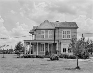 Primary view of object titled '[J.T. Dyer House, (North elevation)]'.