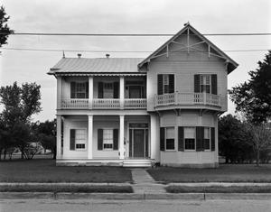 Primary view of object titled '[Frobese-Phillips House, (North elevation)]'.