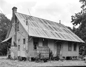 Primary view of object titled '[Mayes House, (Northeast oblique)]'.