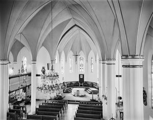 Primary view of object titled '[Church of Immaculate Conception, (Interior)]'.