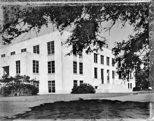 Primary view of object titled '[Chambers County Courthouse, (Southeast oblique)]'.