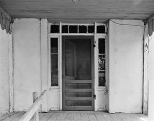 Primary view of object titled '[Charles S. Cock House, (North elevation, porch and door detail)]'.